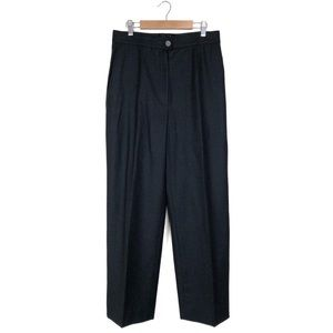 Chanel Wool Cashmere Blend Grey Pants Trousers